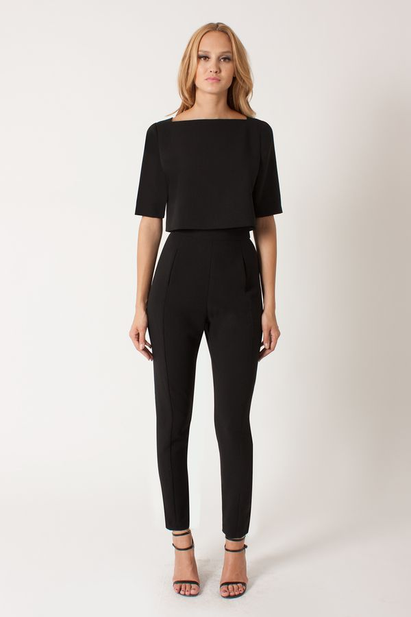 Best 25+ Black jumpsuit ideas on Pinterest | Black ...
