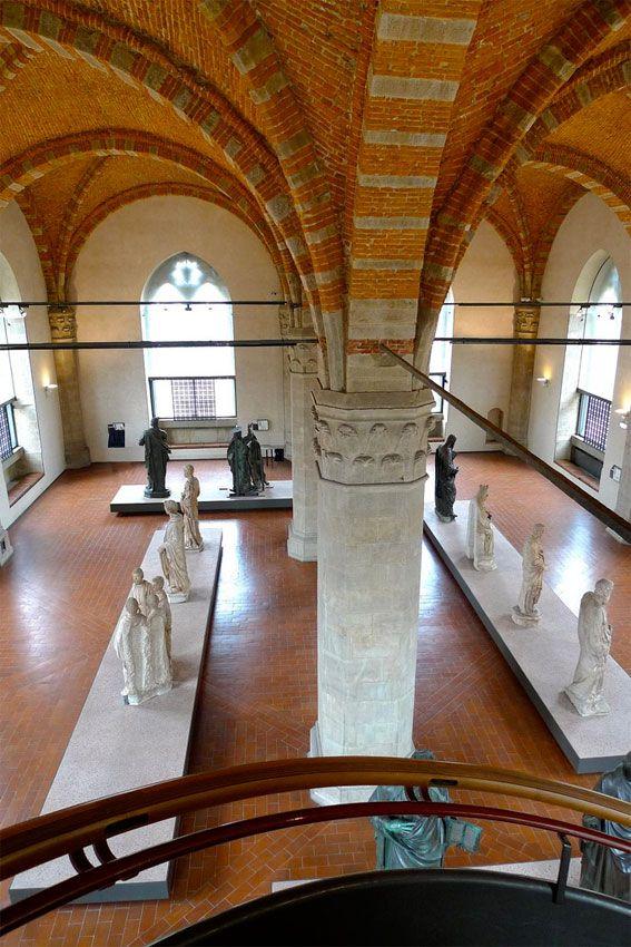 Orsanmichele Church and Museum - Florence. В музее.