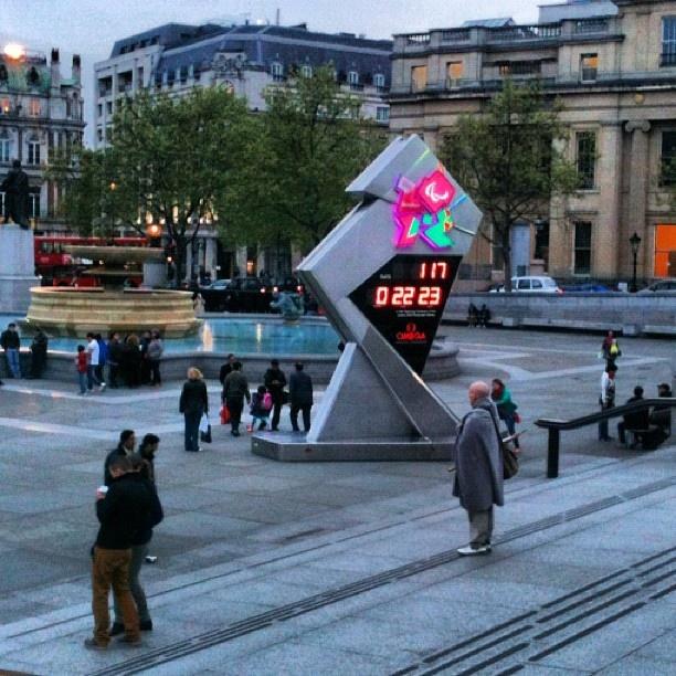 Trafalgar Square, London, May 2012