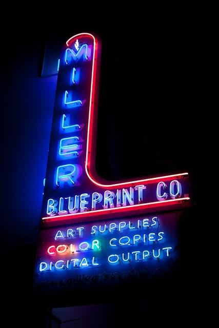 524 best Show Me A Sign images on Pinterest Vintage neon signs - new miller blueprint co austin