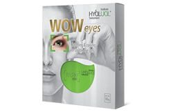 Target puffy, tired eyes with the new HyaLual WOW Eyes – a reusable gel mask that fits around the eye area. It boosts collagen production and reduces swelling for a more youthful-looking eye area.