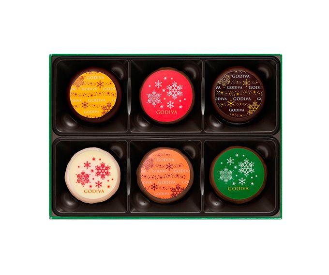 ゴディバのクリスマス限定「ノエル ルミヌ コレクション」キラキラ輝く華やかなショコラ&マカロンの写真18