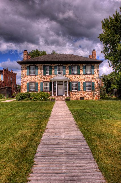 The Old Stone House - Sault Ste Marie, Ontario, Canada
