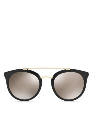 Prada open bridge sunglasses