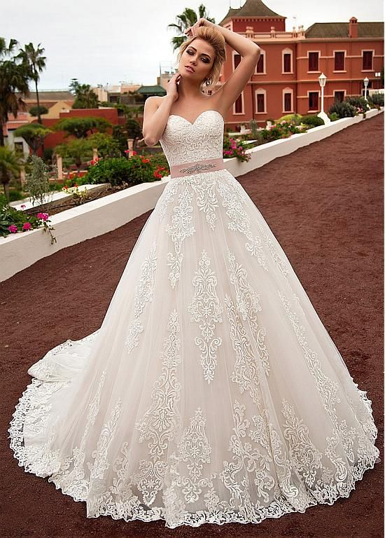 6565205e8541 Buy discount Gorgeous Tulle & Organza Off-the-shoulder Neckline A-line  Wedding Dress With Lace Appliques & Belt & Detachable Jacket at  Dressilyme.com