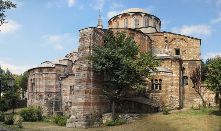 Rear view of Chora Church