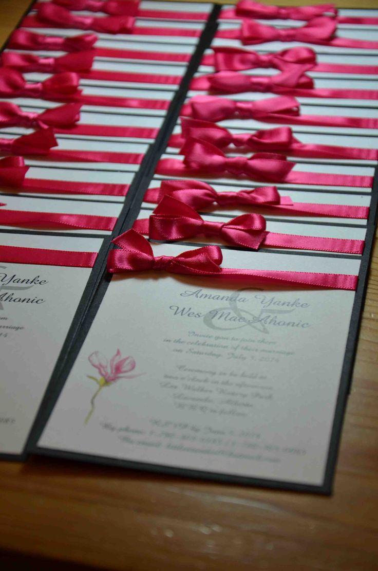 75 best Wedding Invitations images on Pinterest | Bridal invitations ...
