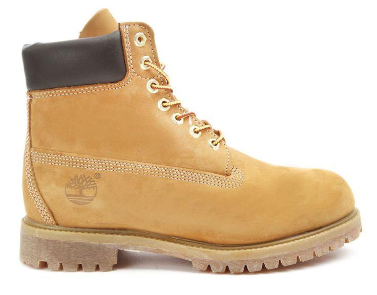 Boots homme MenLook, achat Boots 6 inch Premium Camel TIMBERLAND prix promo MenLook 199,00 € TTC