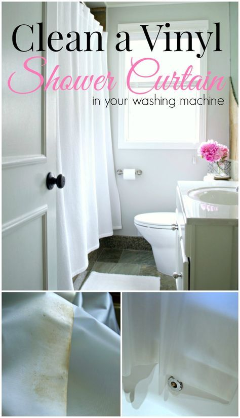Clean A Vinyl Shower Curtain Liner