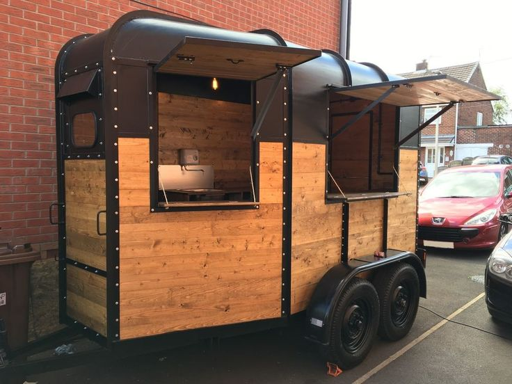 Converted Horsebox Catering Trailer, Mobile Bar, Coffee, Burger Van Conversion in Business, Office & Industrial, Restaurant & Catering, Catering Trailers | eBay!