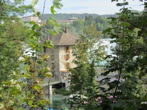 En las cataratas del Rin