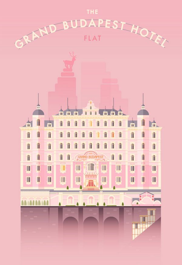The Grand Budapest Hotel - by Lorena G