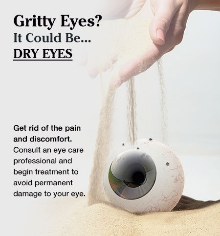 DRY EYE – WHAT IS IT? PREVALENCE, SYMPTOMS, CAUSES, RISKS & COMPLICATIONS, TESTS AND TREATMENTS | Dry Eyes is a condition in which there are not enough tears to lubricate and nourish the eyes. Other names for dry eye include  aqueous tear deficiency, dry eye syndrome, dysfunctional tear syndrome, evaporative tear deficiency, keratoconjunctivitis sicca (KCS), lacrimal keratoconjunctivitis, and LASIK-induced neurotrophic epitheliopathy.