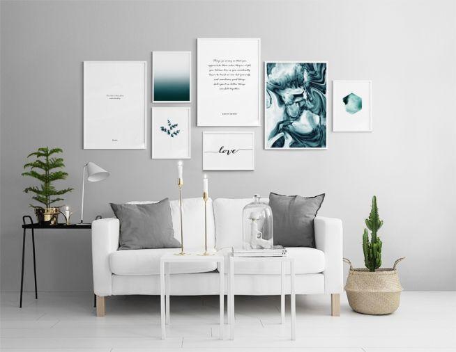 in der Gruppe Inspiration / Wohnzimmer bei Desenio AB (insp8138)
