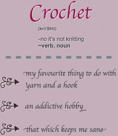 Crocheting Jokes : Crochet Memes, Crochet Funny, Crochet Definition, Crochet Humor ...