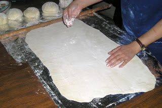 Handmade phyllo dough Turkish Burek( Borek)