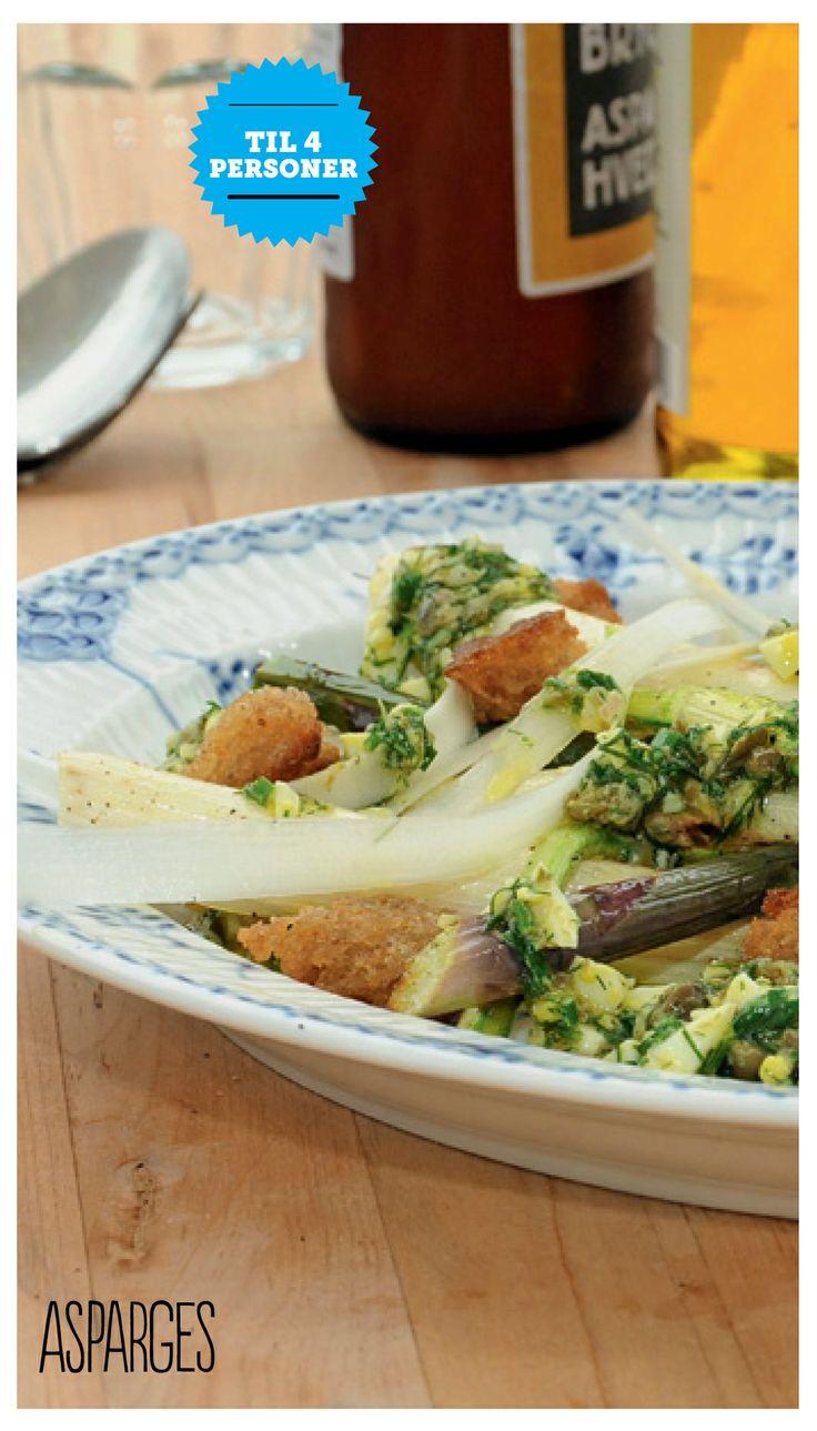 Hvide asparges - opskrift af Brødrene Price for Silvan
