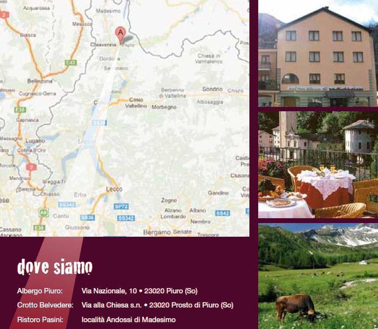 Crotto Belvedere: DOVE SIAMO