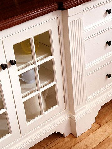 26 best images about vanity furniture base toe kick on for Kitchen cabinets that look like furniture