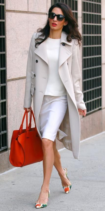 Amal Clooney nails sophisticated street style
