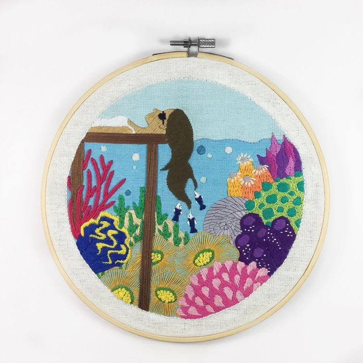 Undersea Embroidery #2 by Christa Gracia S