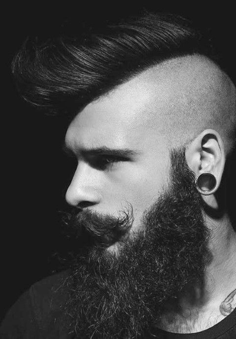 Mohawk Hairstyles for Mens