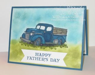 I bought the Country Livin' Stamp Set to make cards for my dad since he likes…