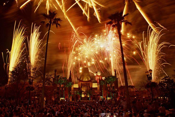 Vintage Walt Disney World: Sorcery in the Sky Fireworks Blast Off