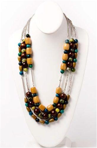 Jasmine #Necklace - #DIY #Jewelry