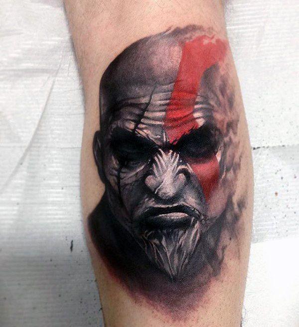 30 Kratos Tattoo Designs Fur Manner God Of Kriegstinten