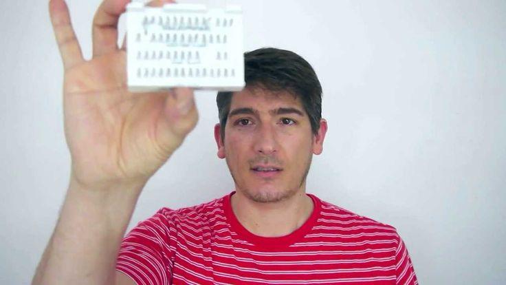 Como Colocar Pestañas Postizas Individuales- How to apply Individual Fal...