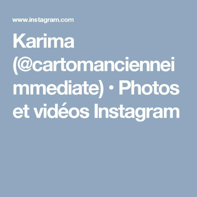 Karima (@cartomancienneimmediate) • Photos et vidéos Instagram