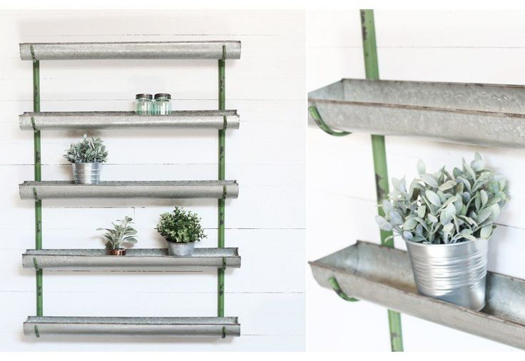 The 25 Best Ideas About Metal Wall Planters On Pinterest