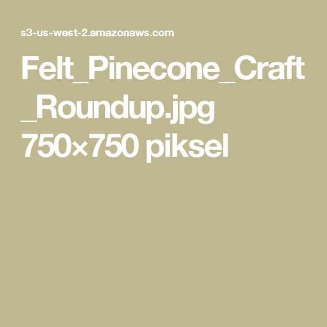 Felt_Pinecone_Craft_Roundup.jpg 750×750 piksel