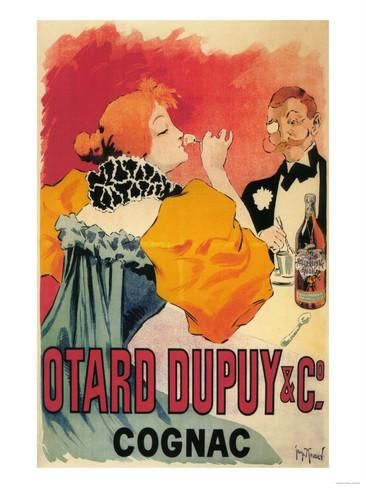 France - Otard-Dupuy & CO. Cognac Promotional Poster Prints by Lantern Press at AllPosters.com
