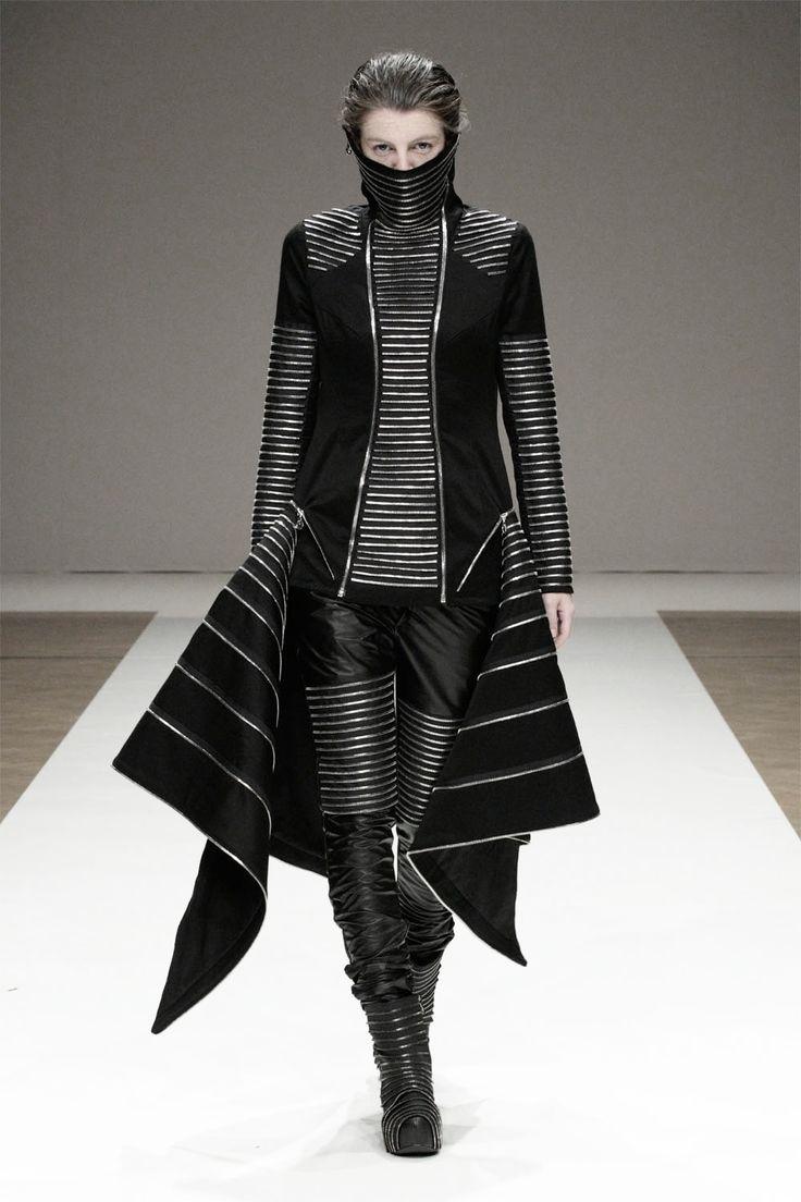 Missing Light Future Fashion Black Clothes Futuristic