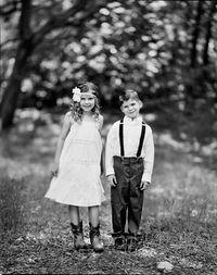 How To Dress A Little Boy for a Wedding...