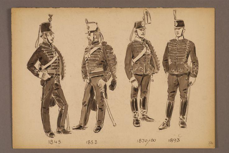 The Life regiment of hussars 1845-1895 by Einar von Strokirch