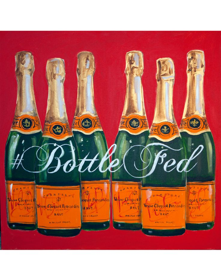 In honor of New York Fashion Week, artist Ashley Longshore showcases portraits of fashion's finest. Pictured: Bottle Fed