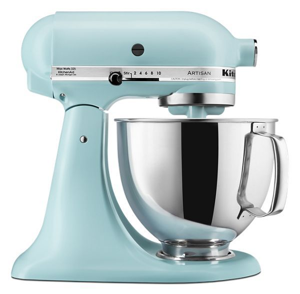 Mineral Water Blue Artisan Series 5 Quart Tilt Head Stand Mixer Ksm150psmi Kitchenaid Kitchen Aid Kitchenaid Artisan Kitchenaid Artisan Stand Mixer