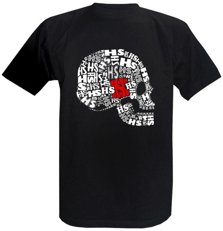 Tričko Horkýže Slíže - Lebka z profilu