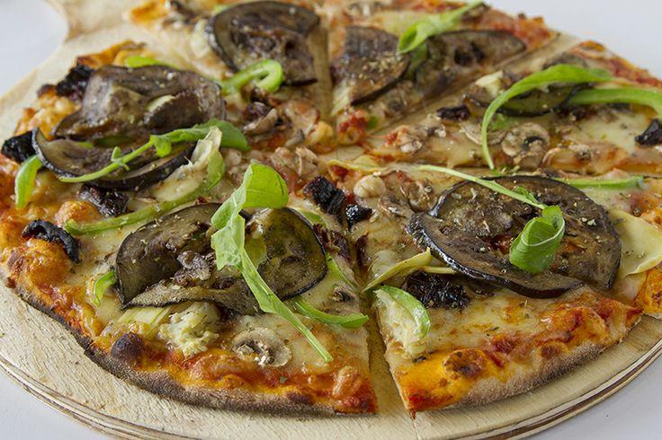 Vegetarian Pizza Rossa CRAFT Restaurant Parkhurst