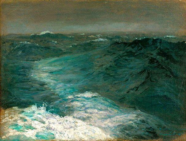 Mid-Ocean Mid-Winter, 1876 - John Singer Sargent