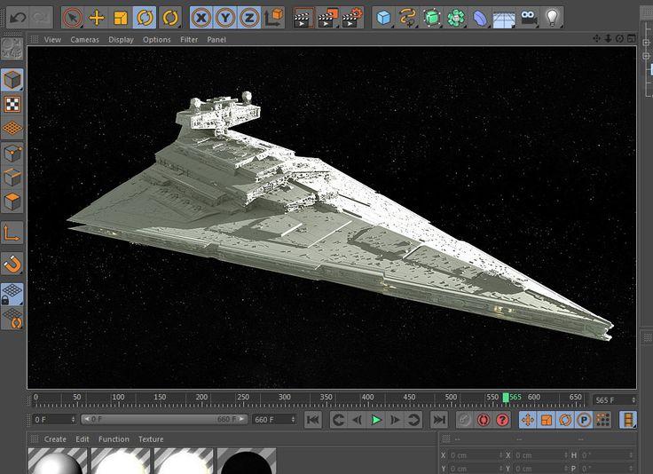 Free Imperial Star Wars Destroyer 3d Model ═ Http Www