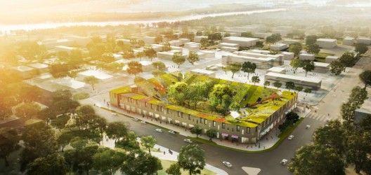 Christchurch New Urban Village by Zotov & Co