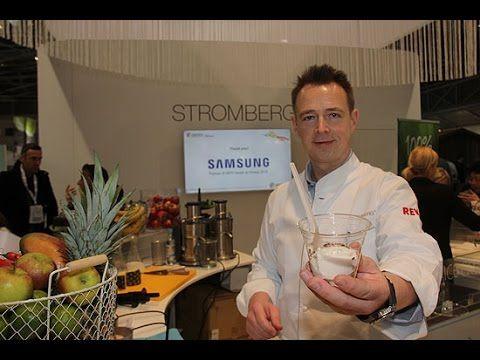 "ispo 2015: Holger Stromberg ""Nutrition Bar"" @ Health & Fitness Area (C1)"