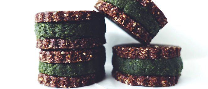 Give yourself a delicious greens boost with Roberta Nelson's Super green raweos.