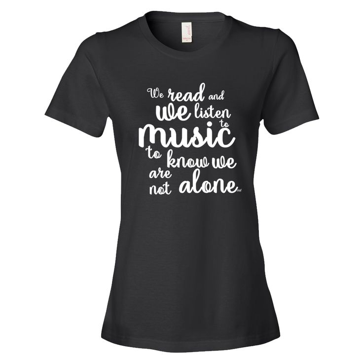 We have added more T-shirts to our store...our range is growing. Go take a look! #music #tshirts