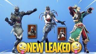 new fortnite season 6 skins leaked spider knight arachne guan yu onesie - skin fortnite teeqzy