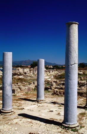 Pula-Nora, Sardinia    Ancient Roman site of Pula-Nora in southern Sardinia.